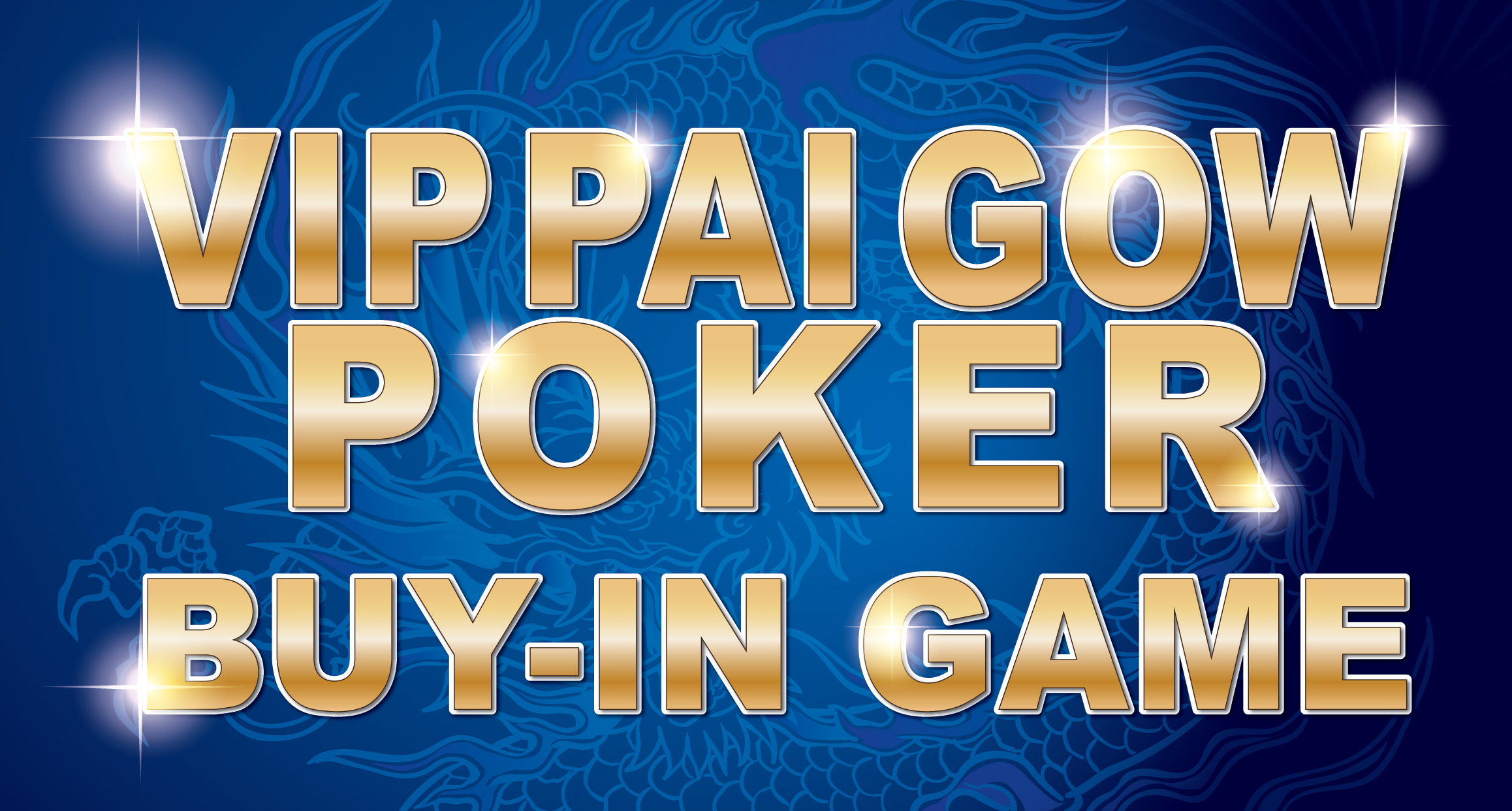 VIP Pai Gow Poker Buy-In